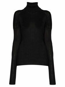 Bottega Veneta ribbed roll-neck sweater - Black