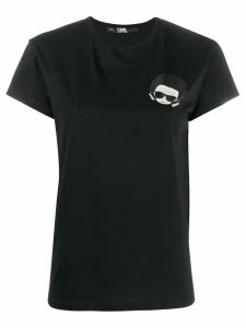 Karl Lagerfeld K/Ikonik slim-fit T-shirt - Black