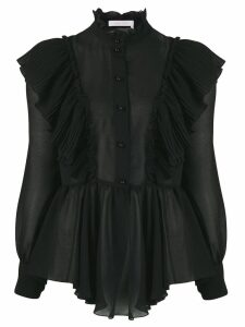 See by Chloé Neo-Victorian ruffled blouse - Black