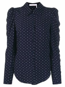 See by Chloé polka dot print shirt - Blue