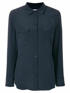 Equipment button pocket shirt - Blue