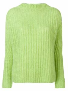 Marni ribbed knit sweater - Green