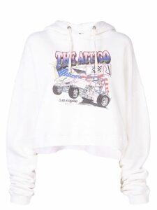 Attico oversized hoodie - White
