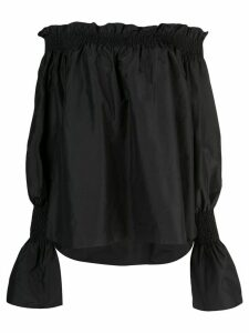 Adam Lippes off-shoulder blouse - Black