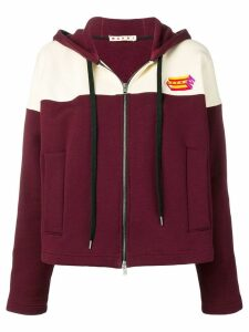 Marni zip up hoodie - Red