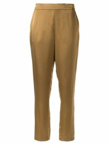 Layeur slim fit trousers - Brown