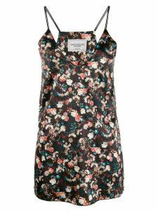Forte Dei Marmi Couture floral print top - Black