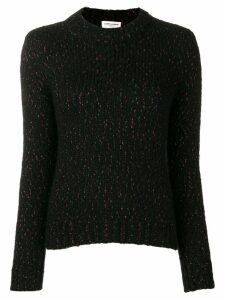 Saint Laurent metallic threaded jumper - Black