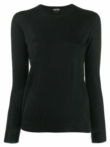 Tom Ford crew neck jumper - Black