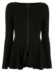 Alcaçuz Lucia zipped top - Black