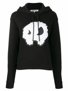 McQ Alexander McQueen monster print hoodie - Black