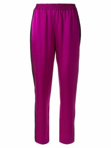 Layeur elasticated waist trousers - Purple