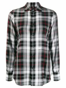 Dsquared2 classic check shirt - Black