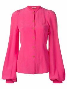 Sonia Rykiel bell sleeved blouse - PINK