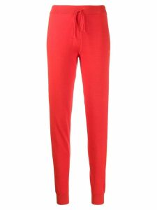 Chinti & Parker fitted track pants - Red