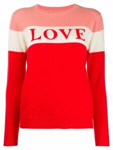 Chinti and Parker Love sweater - Red