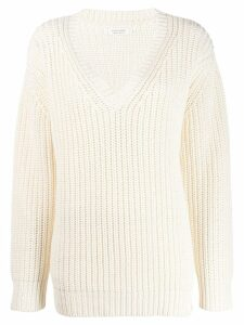 Chinti & Parker v-neck jumper - NEUTRALS