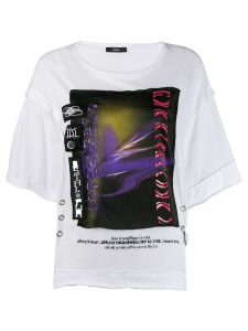 Diesel Boxy deconstructed T-shirt - White