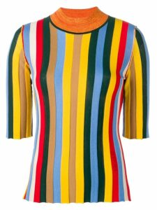 Sonia Rykiel striped T-shirt - Yellow