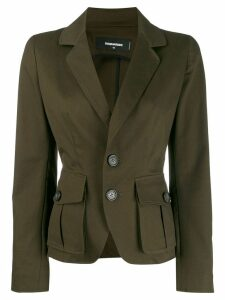 Dsquared2 classic fitted blazer - Green