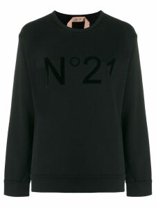 Nº21 logo sweatshirt - Black