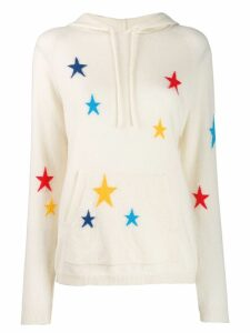 Chinti and Parker Star knit hoodie - NEUTRALS