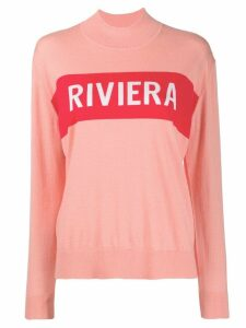 Chinti and Parker Riviera jumper - PINK