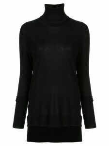 Kitx turtle-neck fitted sweater - Black