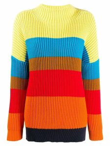 Chinti and Parker oversized ribbed sweater - Red