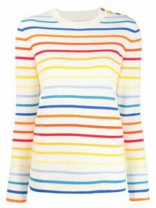 Chinti & Parker rainbow striped sweater - Neutrals