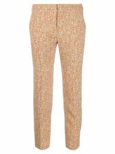 Chloé classic capri trousers - Brown