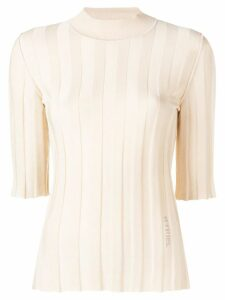 Sonia Rykiel ribbed knit jumper - Neutrals