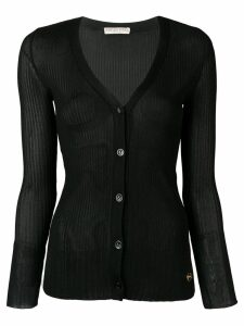 Emilio Pucci Ribbed knit cardigan - Black