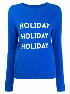 Chinti and Parker Holiday sweater - Blue