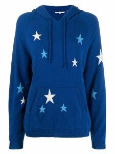 Chinti & Parker star knit hoodie - Blue