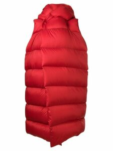 Rick Owens padded oversized gilet - Red