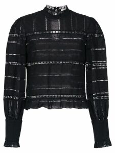 Martha Medeiros long sleeved top - Black