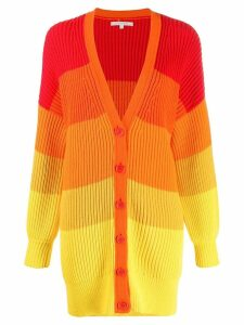 Chinti and Parker chunky knit cardigan - Red