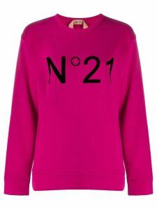 Nº21 logo sweatshirt - Pink