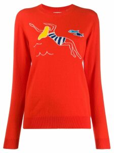 Chinti & Parker swimmer sweater - Red