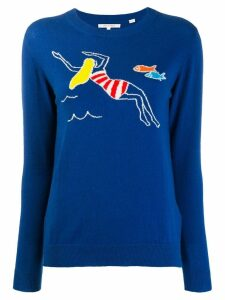 Chinti & Parker swimmer sweater - Blue