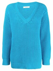 Chinti and Parker v-neck jumper - Blue