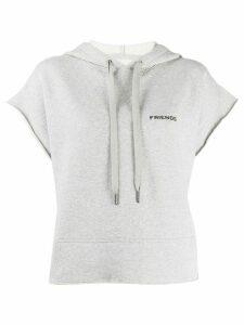 Zadig & Voltaire Friends short sleeve hoodie - Grey