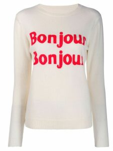 Chinti and Parker Bonjour jumper - NEUTRALS