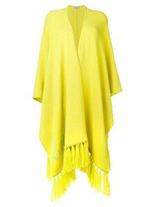 Emilio Pucci tasselled logo shawl - Green