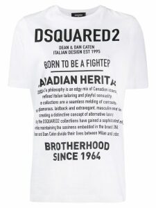 Dsquared2 logo print T-shirt - White