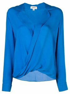 L'Agence loose fit blouse - Blue