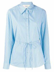 Ports 1961 string tie waist striped shirt - Sc19