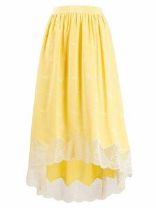 Zadig & Voltaire Joslin jacquard skirt - Yellow