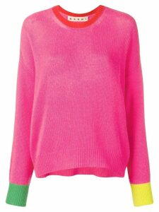 Marni oversized jumper - PINK